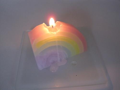 虹を灯して