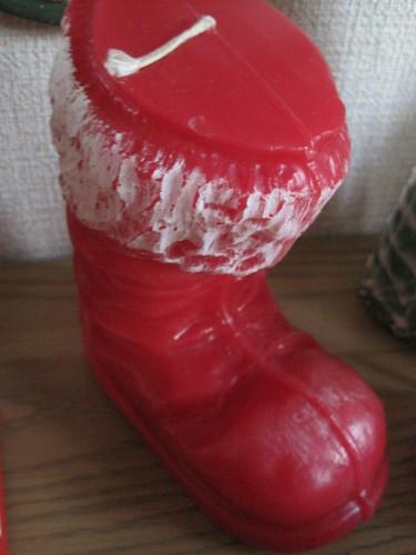 サンタさんのブーツ
